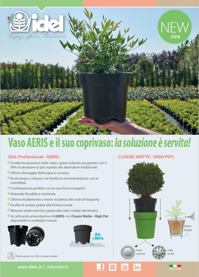 AERIS e gli altri prodotti IDeL per il vivaismo