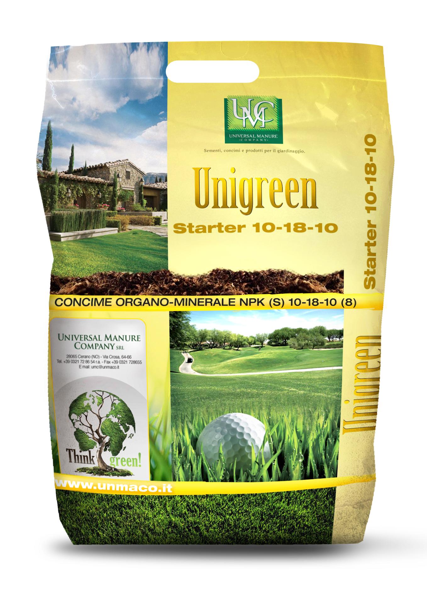 Unigreen 10-18-10 Starter