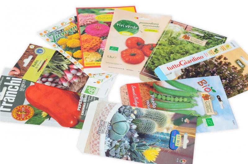 Bustine per sementi in carta - Paper seed packets