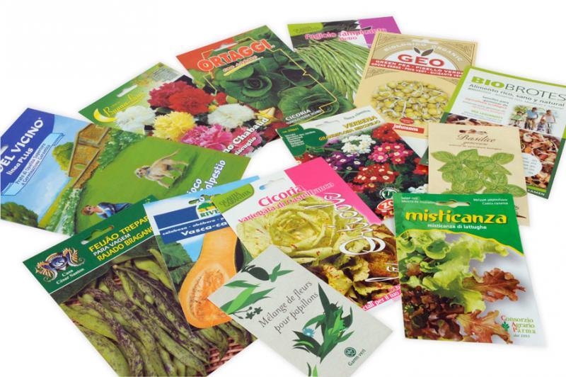 Buste termosaldate per sementi - Heat-sealed packe