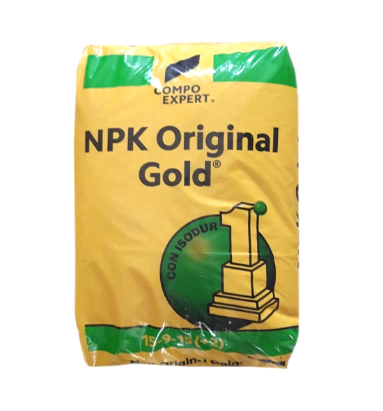 Concime azotato a lenta cessione NPK Orignal Gold