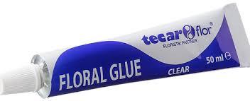 tubo collaper fiori floral glue Tecarflor