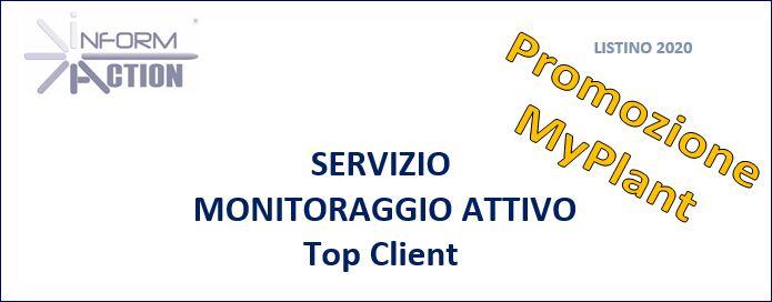 Servizio MONITORAGGIO ATTIVO sui Top Client attivi