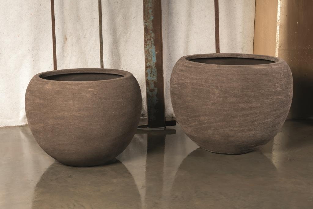 SB Tondo vaso in terracotta