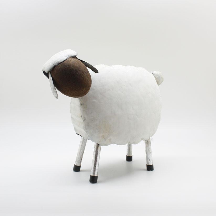 DM 2041 - Pecorella in metallo piccola