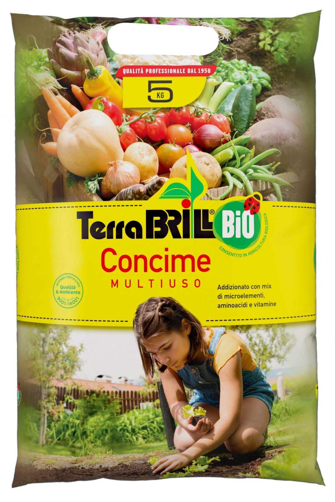 TerraBrill® Bio Concime Multiuso