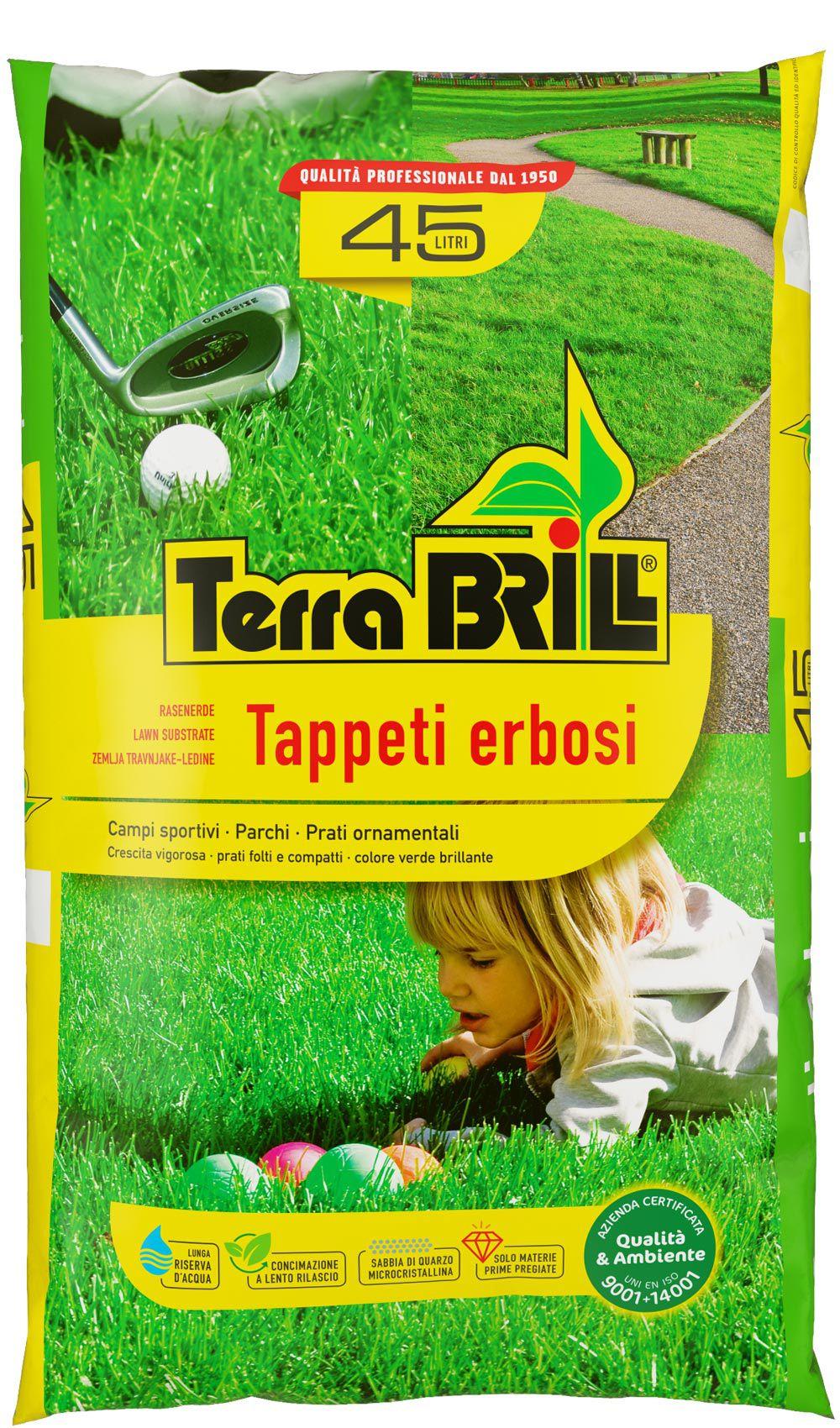 TerraBrill® Tappeti Erbosi
