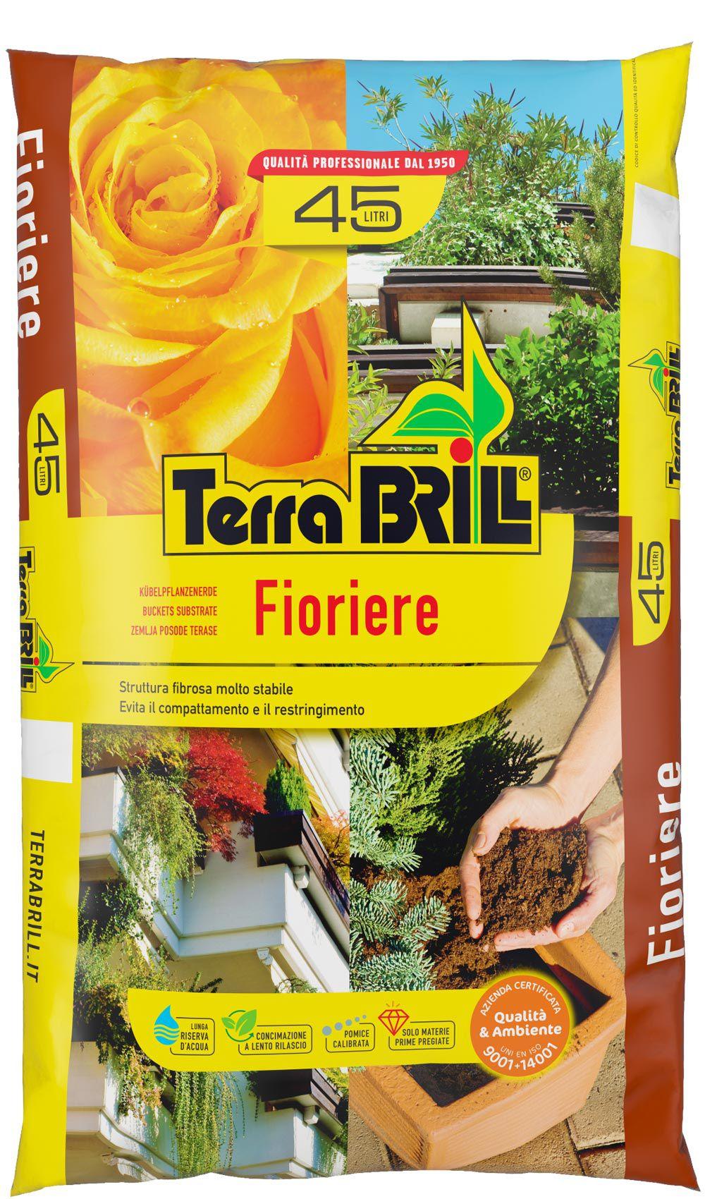 TerraBrill® Fioriere