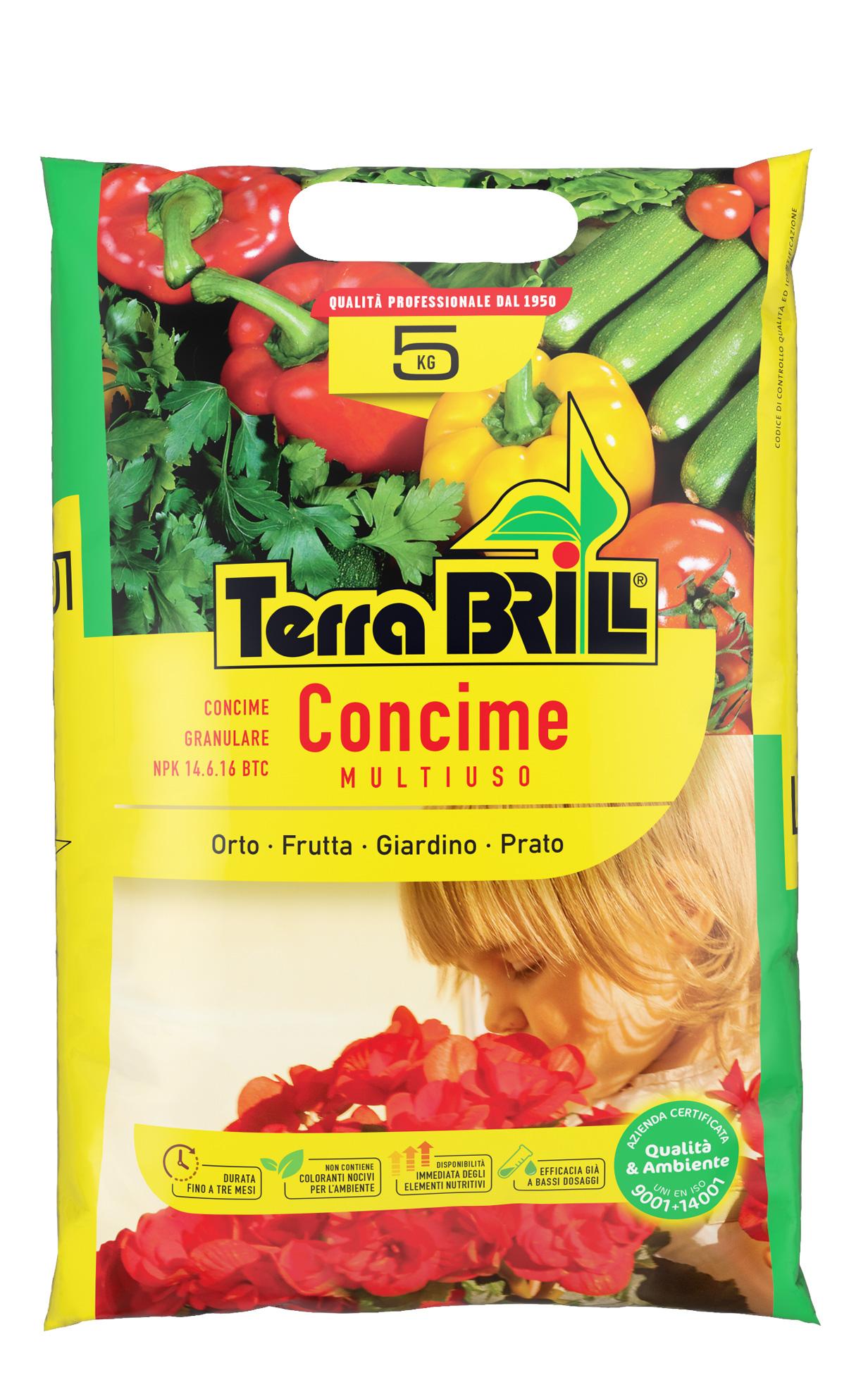 TerraBrill® Concime Multiuso