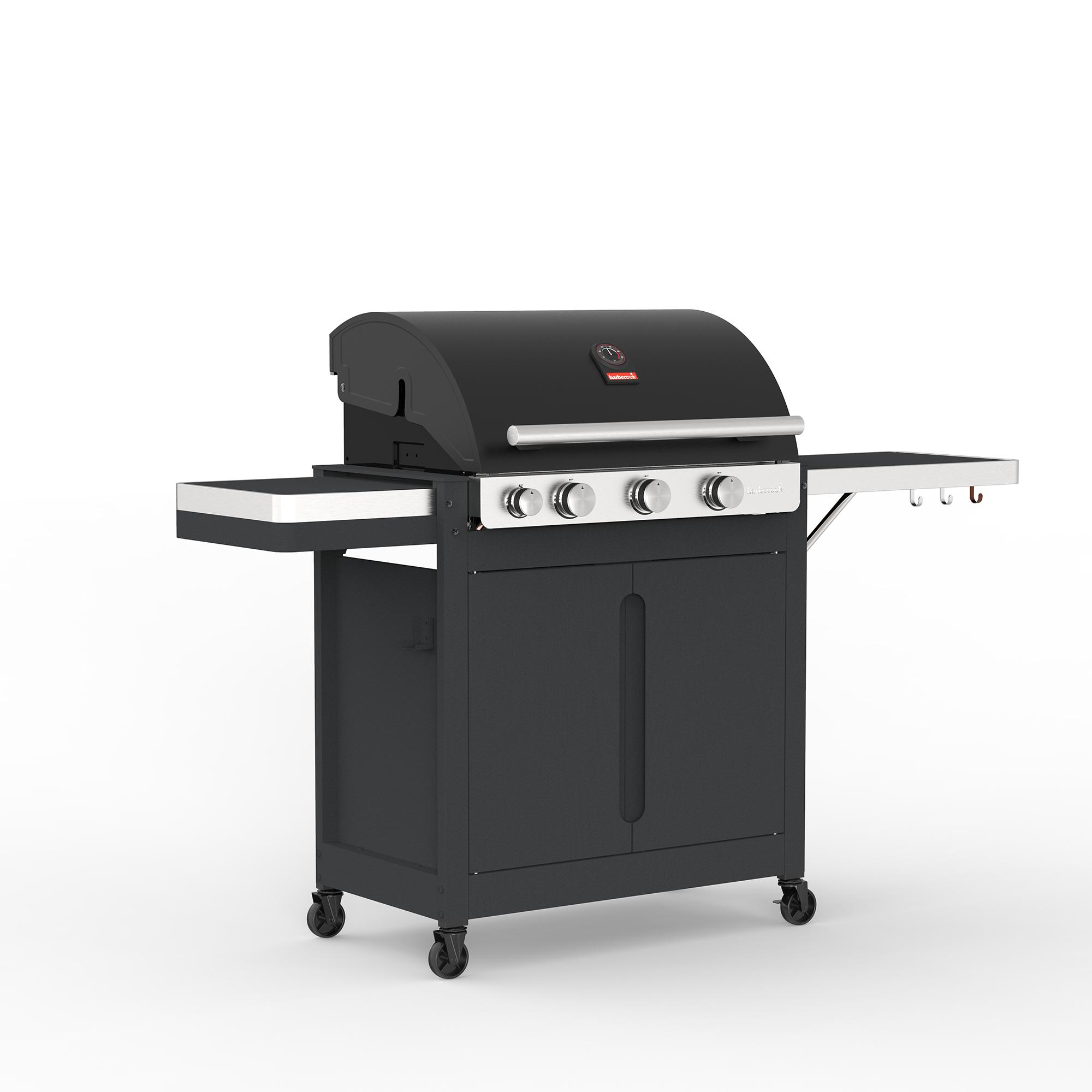 Barbecook Stella 3201 gas barbecue black with cabi