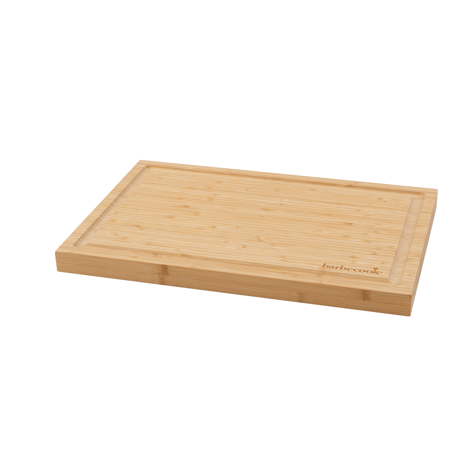 Barbecook bamboo cutting board with groove 46.5x28