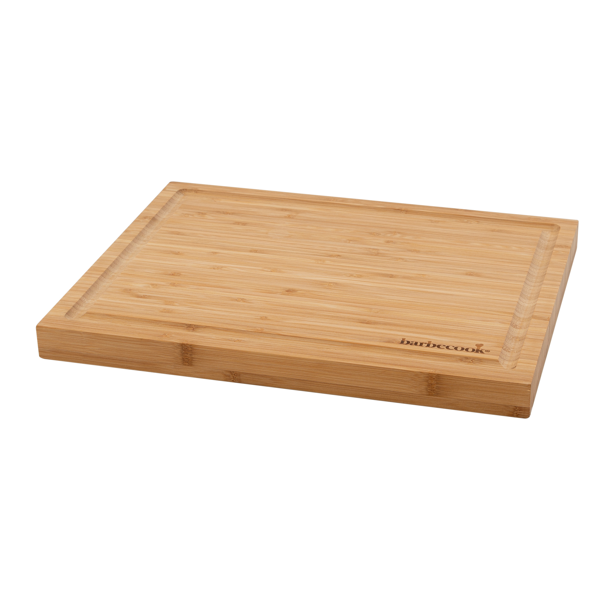Barbecook bamboo cutting board with groove 40x30x3