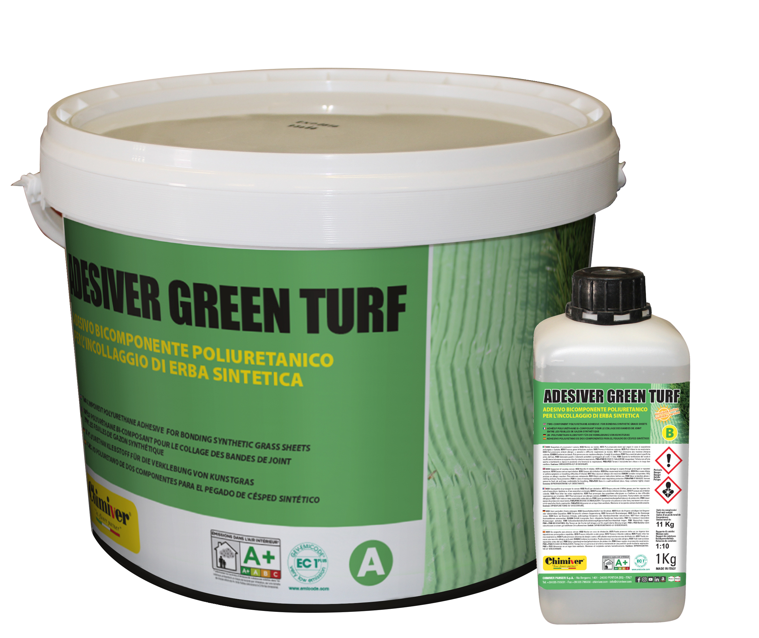 ADESIVER GREEN TURF (A+B)