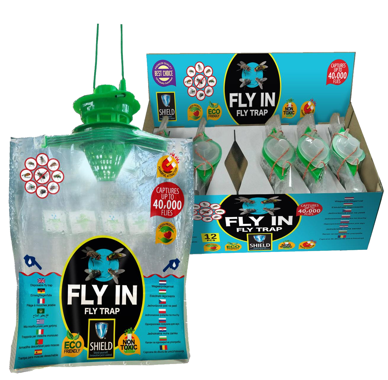 FLY-IN TRAP