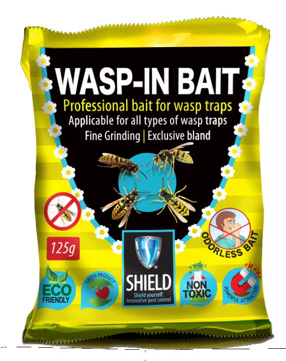 WASP IN BAIT