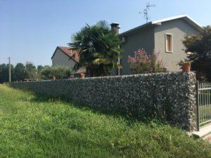 Recinzione in gabbionate Wall Stone
